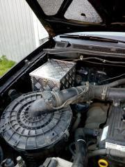 Перетянул руль автомобильной кожей
